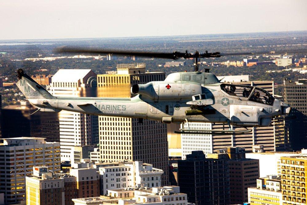 The Bell AH-1W Super Cobra