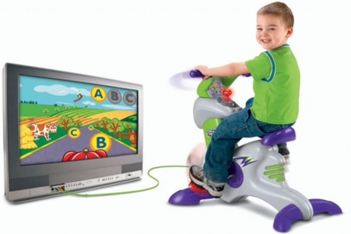 Fisher-Price's Smart Cycle Physical Learning Arcade System