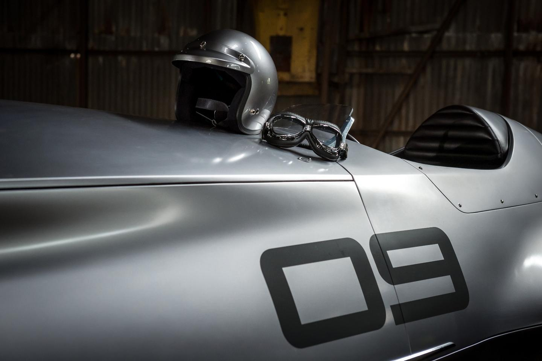 The Prototype 9 has hand-beaten steel body panels