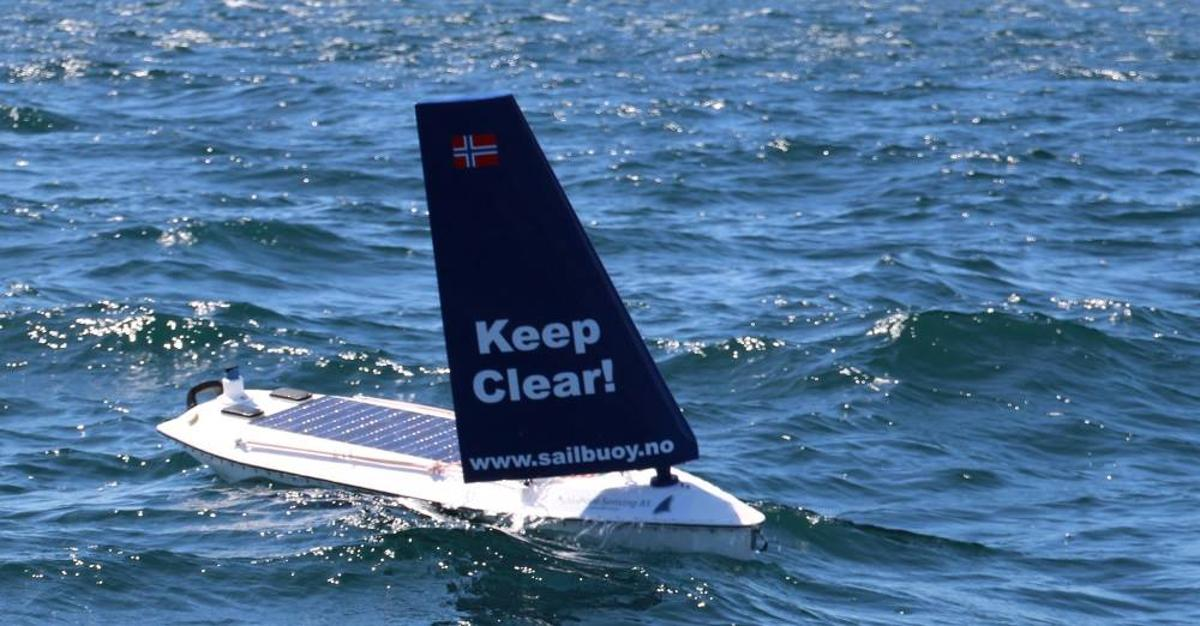 The Sailbuoy Met has become the first unmanned surface vessel to successfully cross the North Atlantic