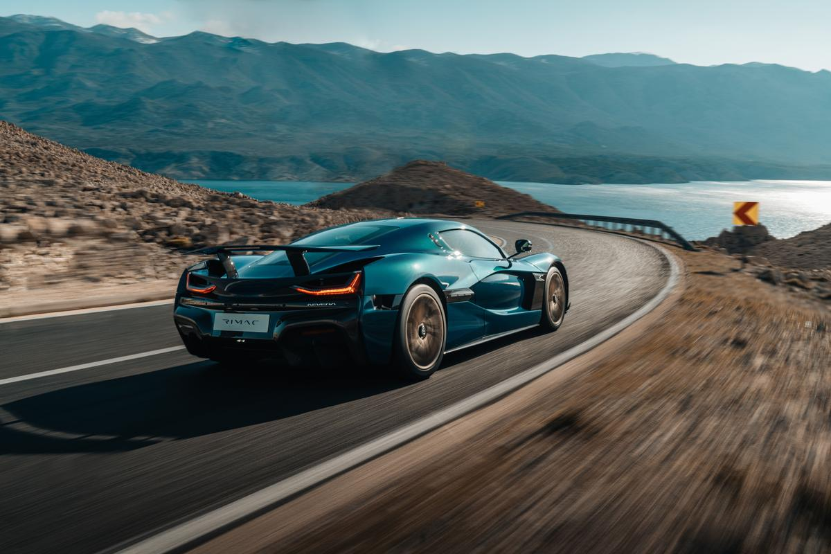 The Nevera can accelerate to 62 mph in under two seconds and hit a top speed of 258 mph