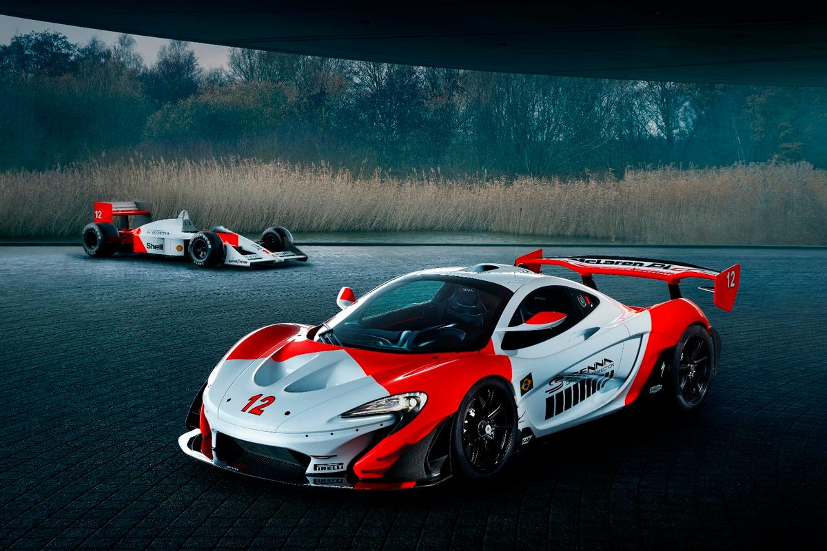With engine and aerodynamics upgrades, as well as a Marlboro-red paint job, this P1 GTR celebrates 30 years since Senna's first GP championship