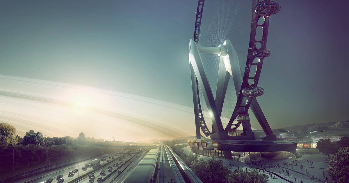 Nippon Moon observation wheel drops hints as to the future of the tourist attraction