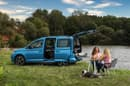 At just 450 cm long, the new Caddy California is an efficient mini-campervan