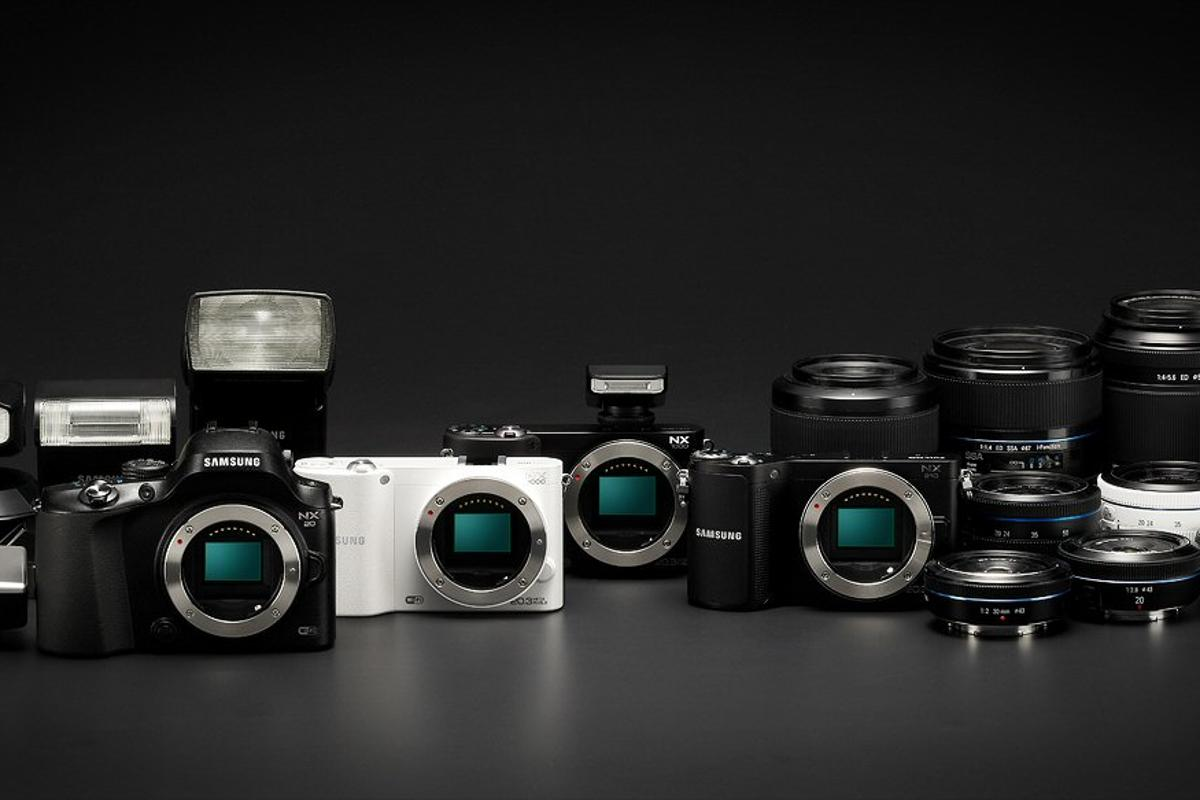 Samsung has announced three new NX Series mirrorless cameras - the NX1000, NX20 and NX210 - which all have built-in Wi-Fi capabilities