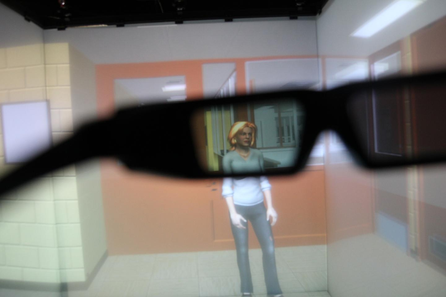 An eye-tracking VR system lets administrators see what parts of an image sex offenders are drawn to