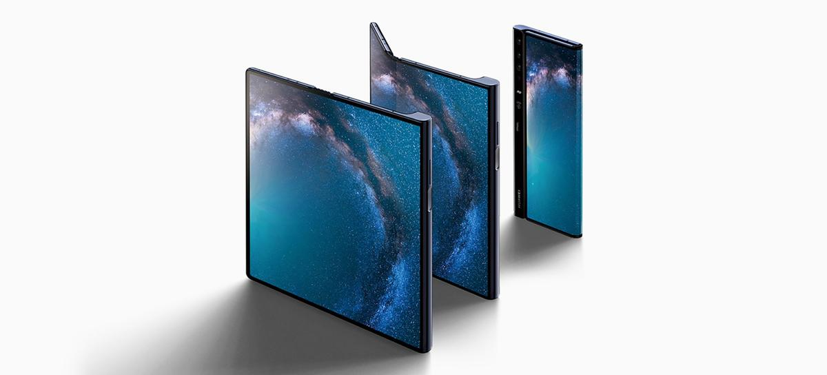 The Huawei Mate X folds out to be a tablet and folds over to be a phone
