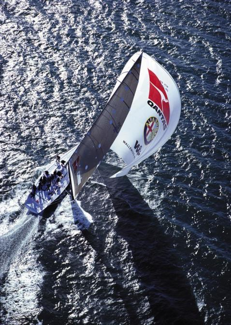 Three yachts back for Chrichton - Shockwave 5