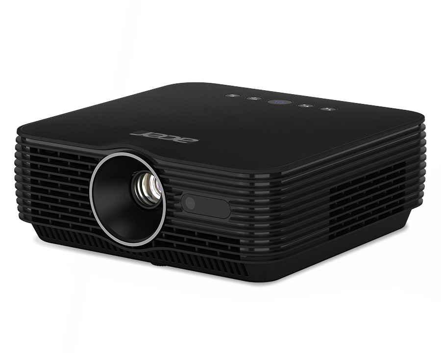 The Acer B250i can throw a Full HD image at yo to 1,000 ANSI lumens