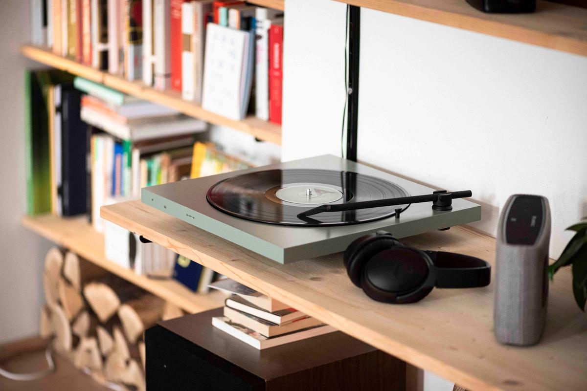 The Tone Factory can wirelessly connect with Bluetooth speakers or headphones