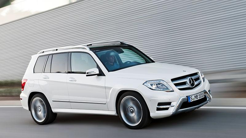 Mercedes-Benz 2012 GLK in AMG trim