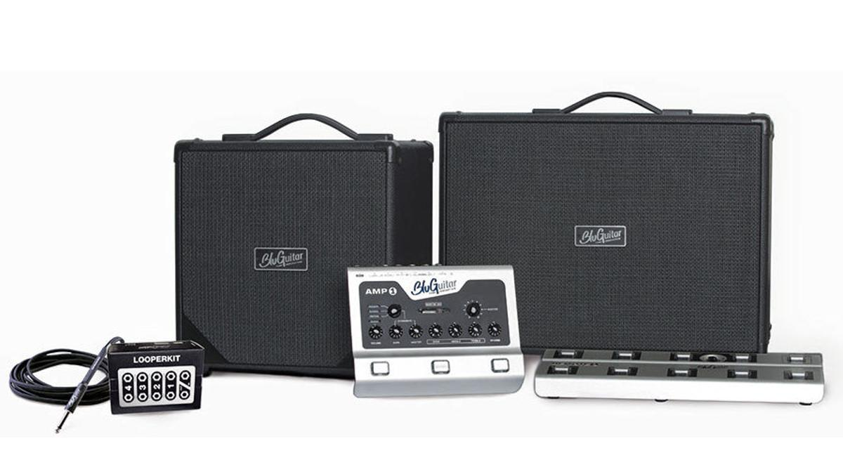 The complete Amp1 System from BluGuitar