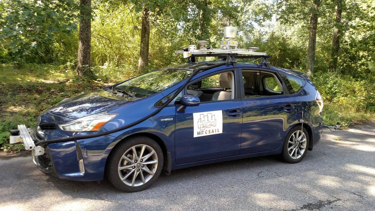 The MapLite test vehicle