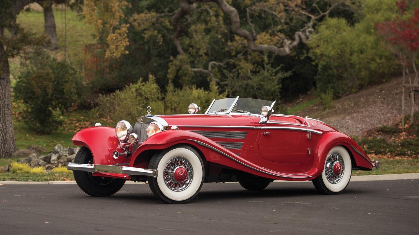 This 1937 Mercedes-Benz 540 K Special Roadster is one of only 25 produced. It is expected to sell for between $10 million and $13 million
