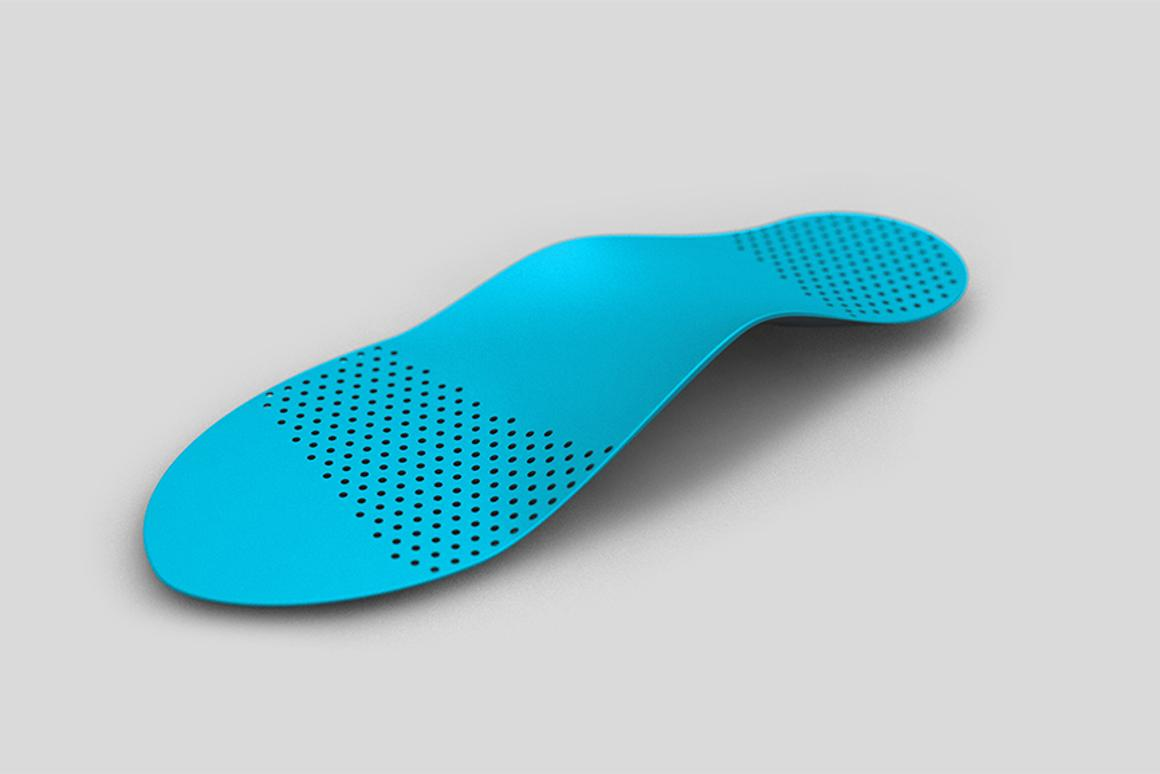 Sols are 3D printed custom insoles