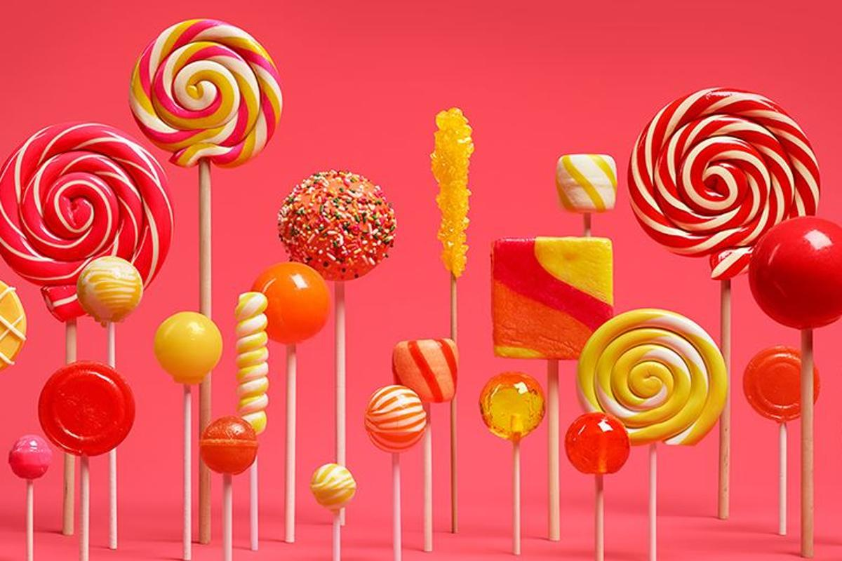 Lollipop is currently rolling out to devices