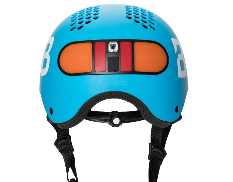 The Classon helmet, seen from behind