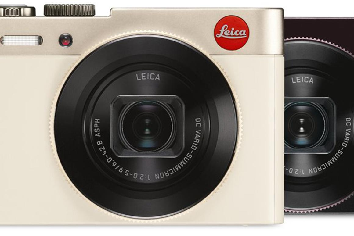 The Leica C is the the first Leica to come with Wi-Fi and NFC
