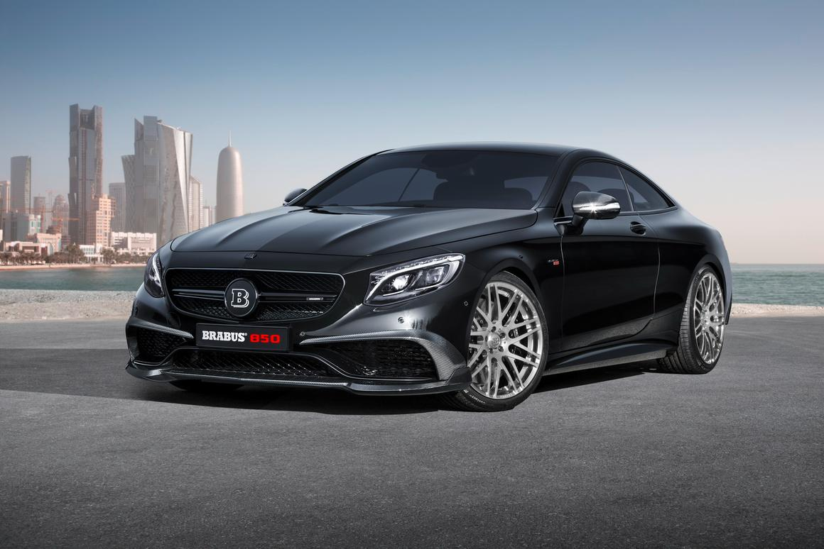 The all-new Brabus 850 6.0 Biturbo Coupe debuts at the 2015 Geneva Motor Show