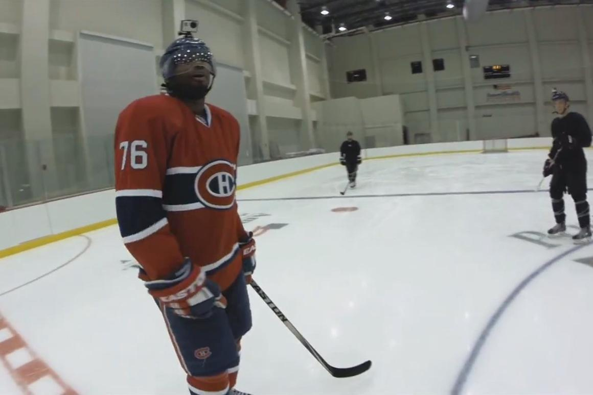 """The NHL is promising """"never-before-seen perspectives of the game"""" in its use of the GoPro equipment"""