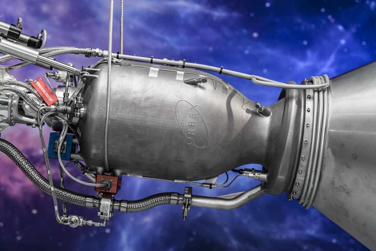 The new Orbex Primeengine burns liquid oxygen and propane