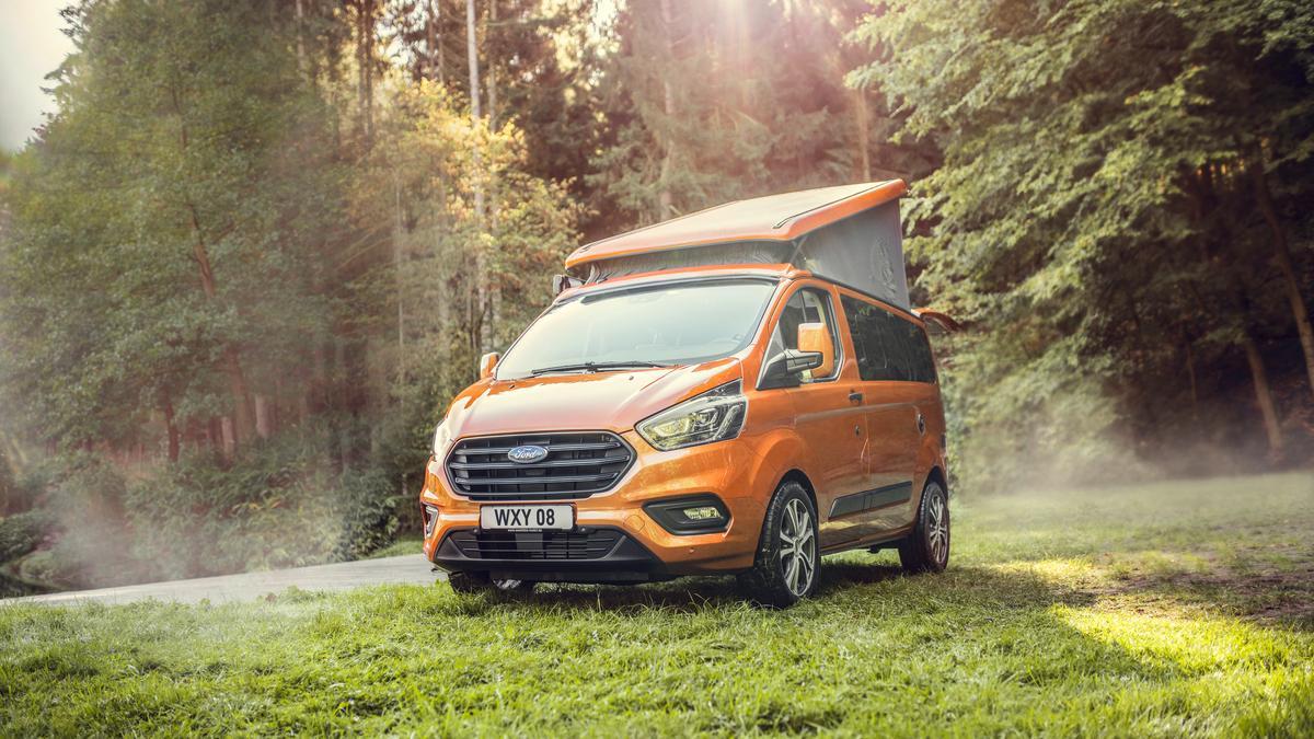Ford starts selling adventurous, little Transit Custom Nugget camper van