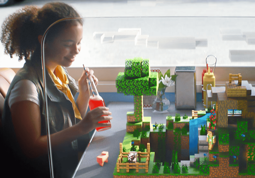 Minecraft Earth Builds On The Real World With Augmented Reality