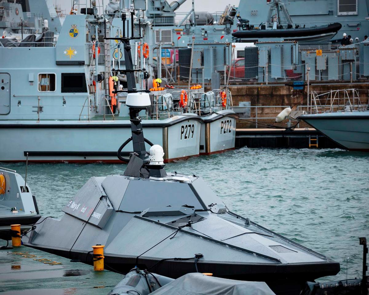 Madfox will operate from Type 26 and Type 31 frigates