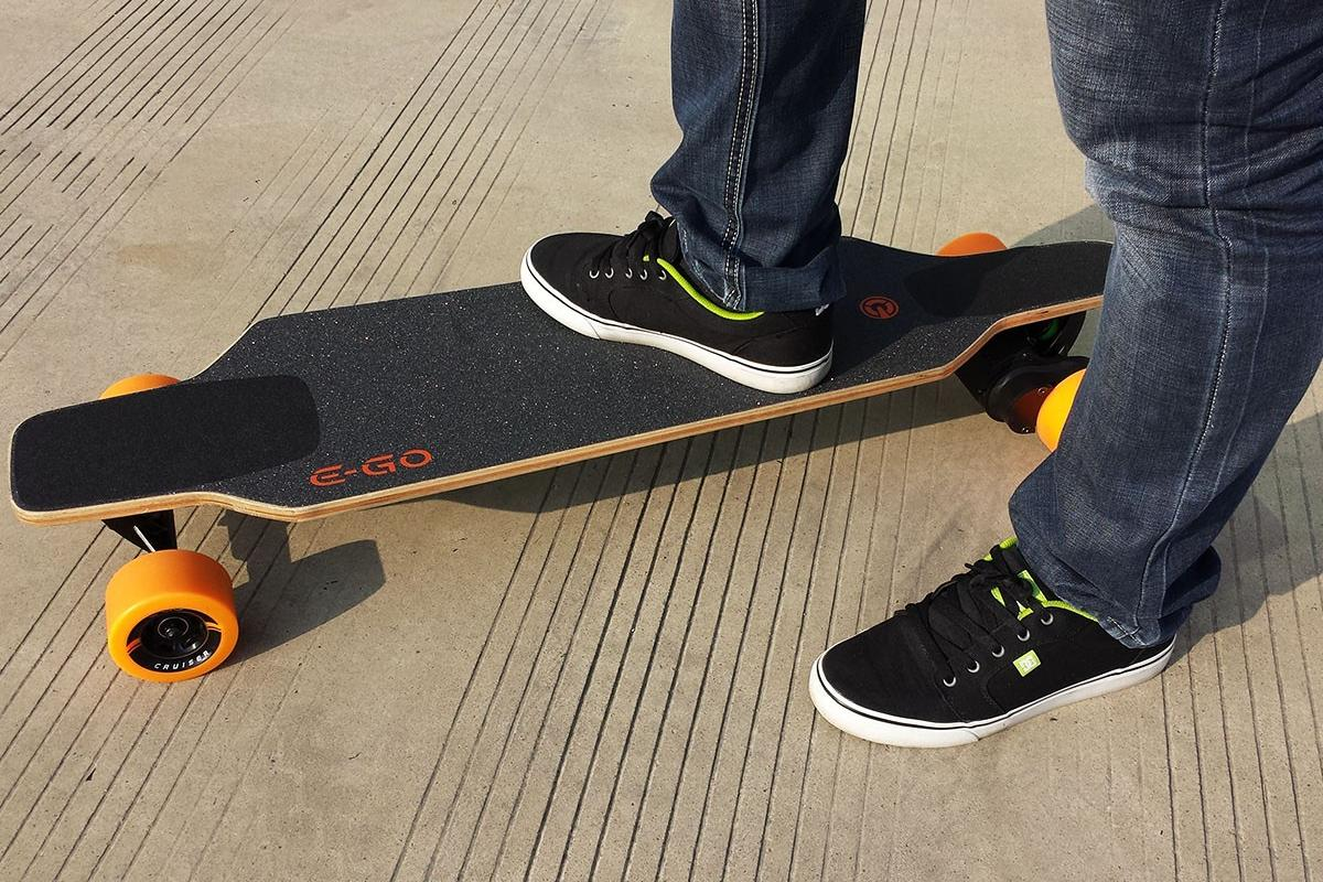 At $699, the E-Go Cruiser is one of the most affordable e-boards we've seen
