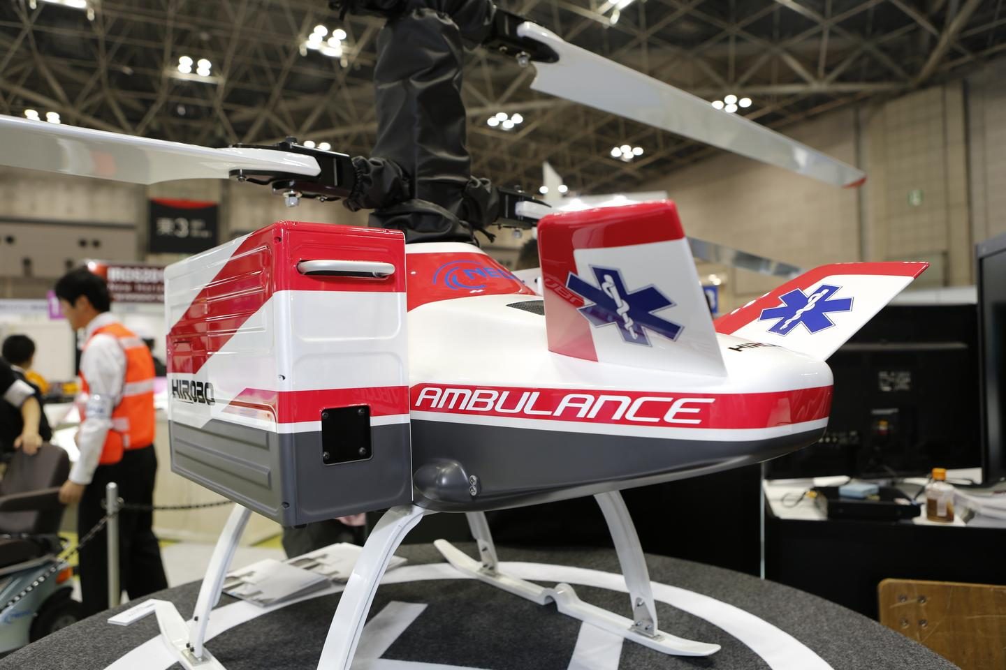 The HX-1 Rescue Helicopter (Photo: Mike Hanlon/Gizmag)