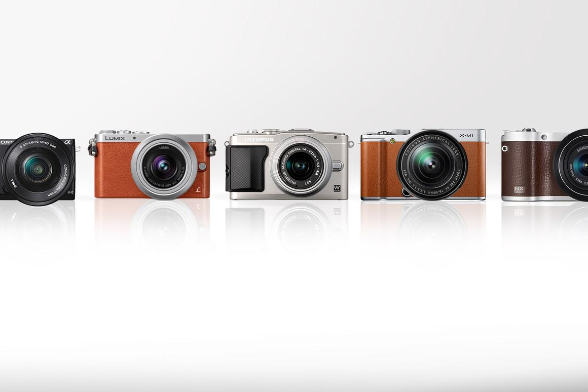 Gizmag compares some of the best mid-range mirrorless cameras on the market in 2013