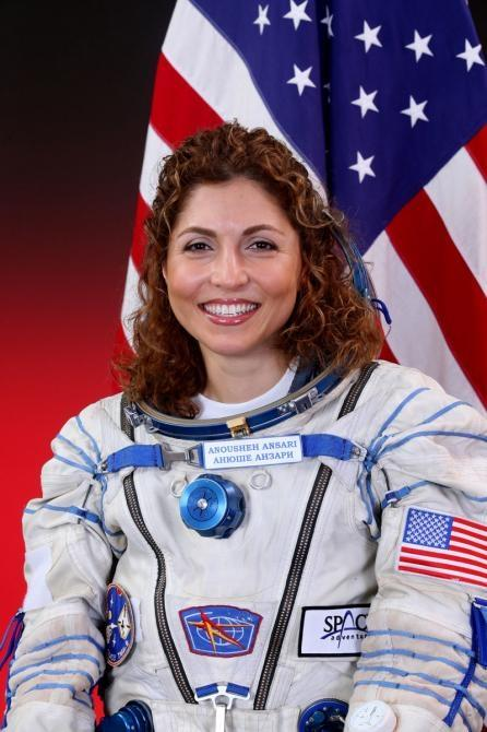 Anousheh brimming with pride
