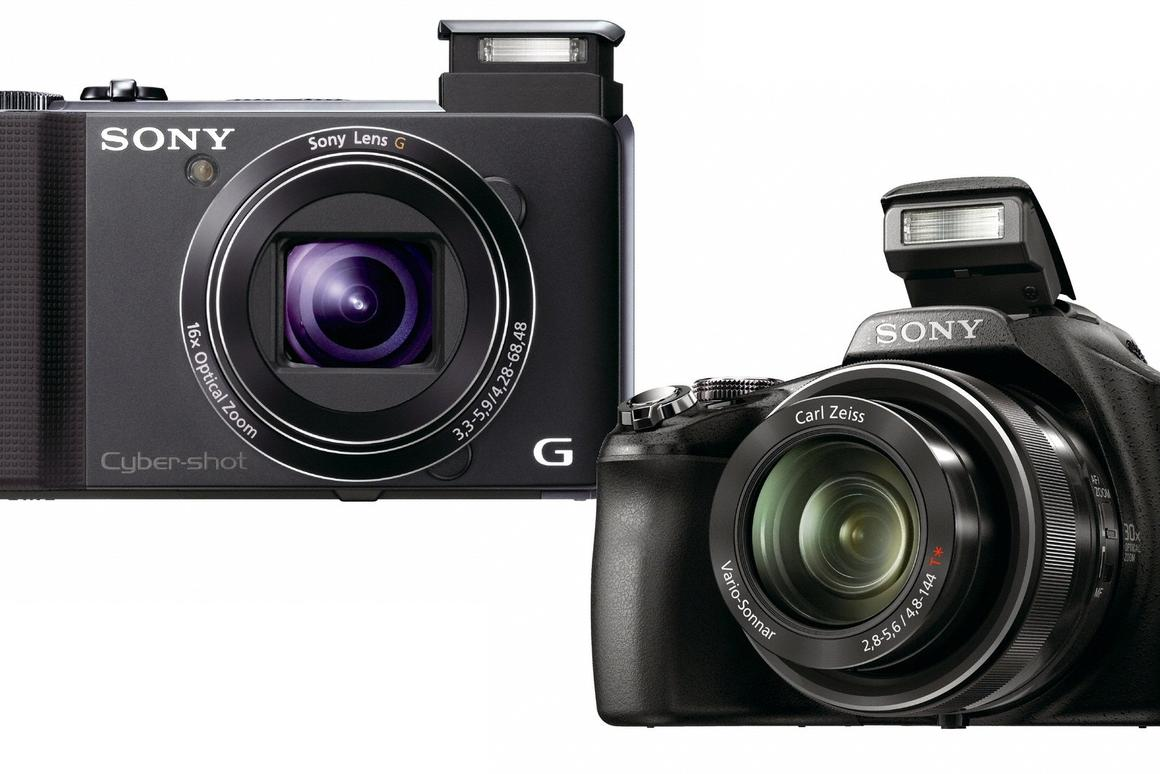 Sony has announced a couple of superzoom additions to its Cyber-shot camera range, with fast autofocus, the ability to generate 3D still using a single lens, and to record full high definition movies