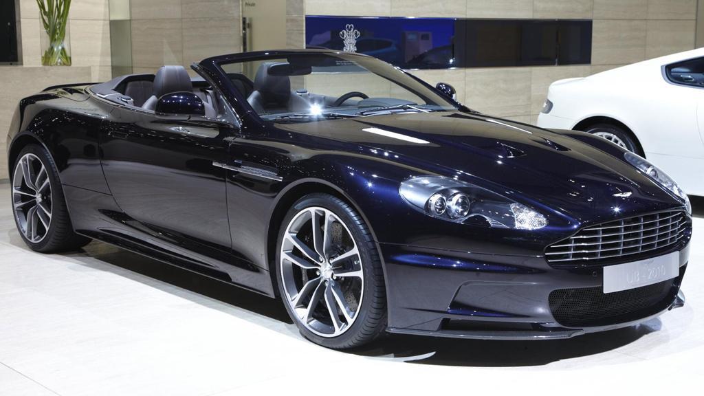 An Aston Martin DBS UB-2010