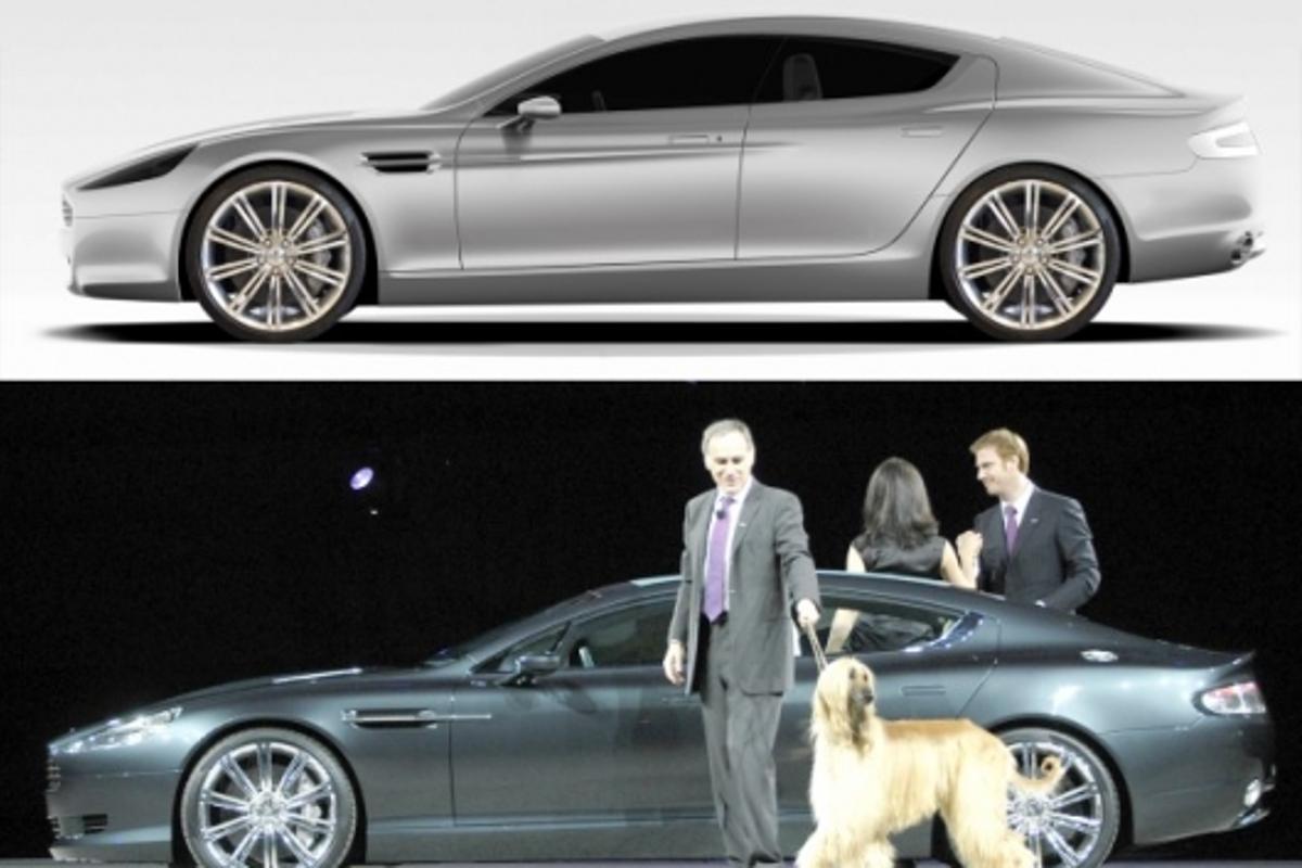 Aston Martin Rapide: four-door sports car