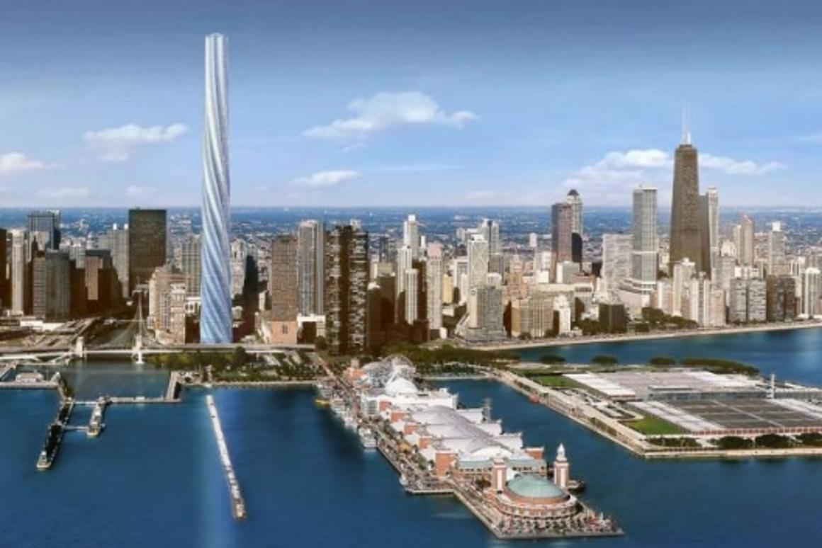 The new Chicago Spire
