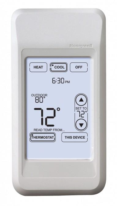 The Honeywell Portable Comfort Control remote lets you control the temperature from anywhere in the house