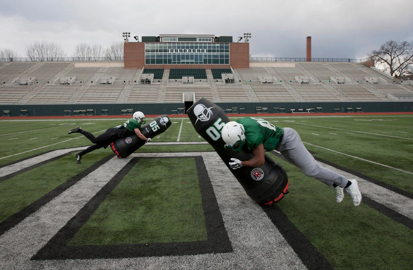 The MVP robot allows footballers to train with less risk of injury