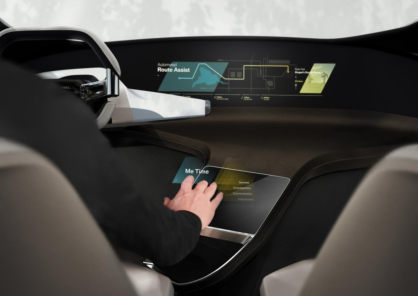 BMW will debut the HoloActive Touch Concept at CES 2017
