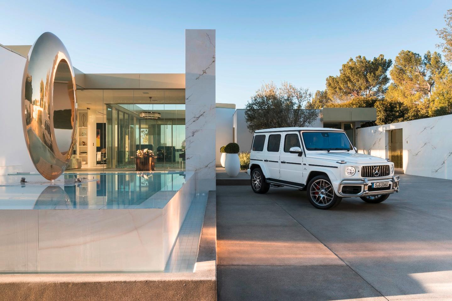 Mercedes ups the new G-Class' performance with G 63