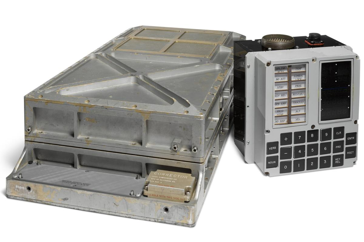 The Apollo Guidance Computer is extremely rare, was very expensive to produce, and an example of state-of-the-art design and fabrication of the period - perhaps even more significantly, it is the common ancestor of every computer.
