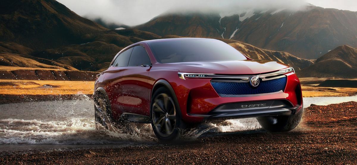 A sleeker, more electrifying Buick SUV