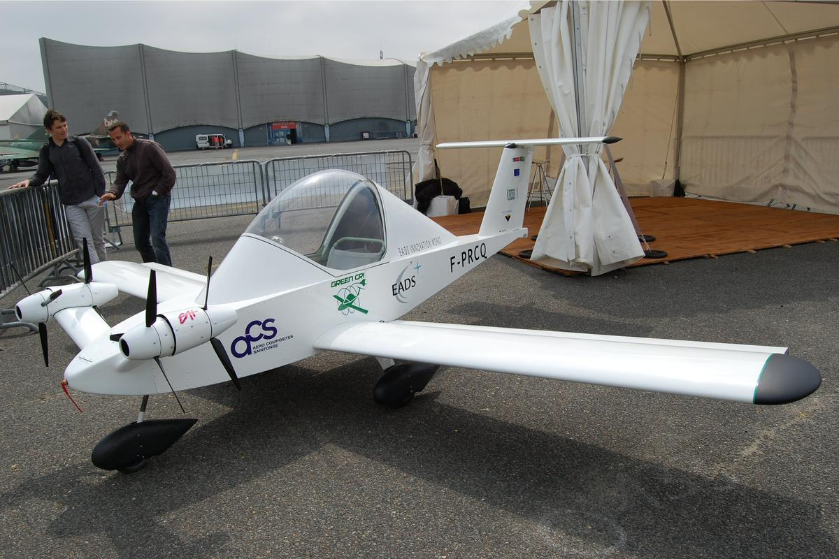 The Green Cri was created as a scientific research aircraft