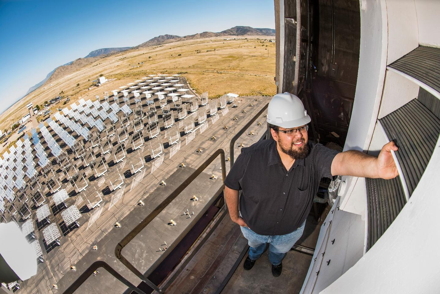 Engineers from Sandia National Laboratories have developed a new type of receiver for concentrating solar power plants, which should improve the sunlight capture efficiency of smaller facilities