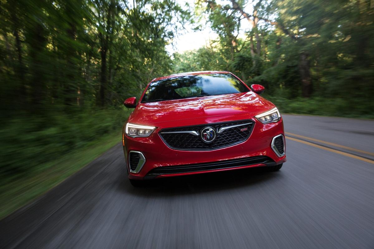 The Buick GS shares much of its hardware with the Opel Insignia, but the two cars have different engines