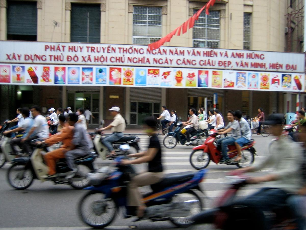 Hanoi's famous swarms of motorcycles could be a thing of the past, with Hanoi's city council voting overwhelmingly to ban them from inner city streets by 2030