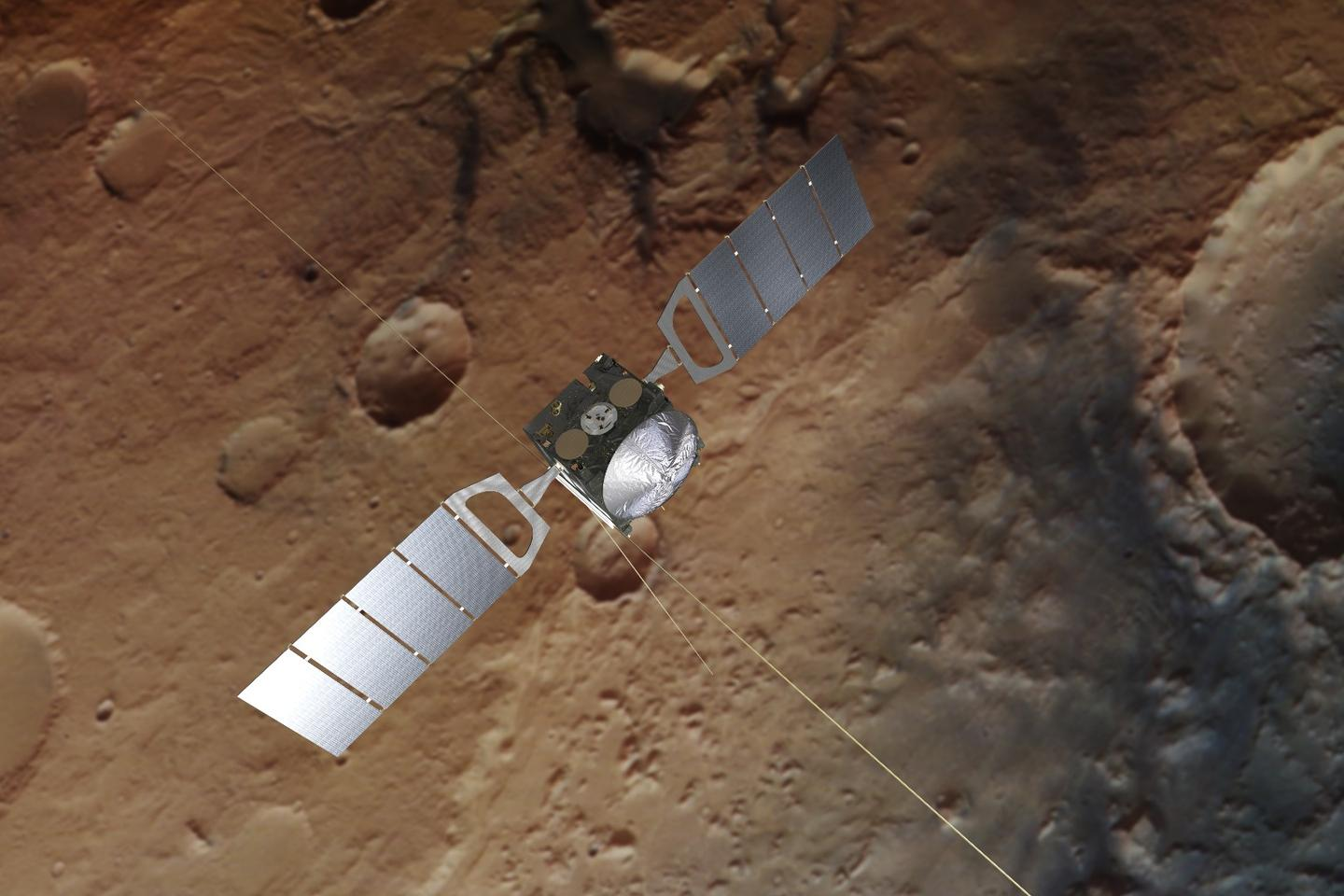 Artist's impression of Mars Express