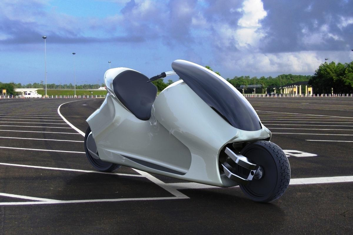 A rendering of the GyroCycle