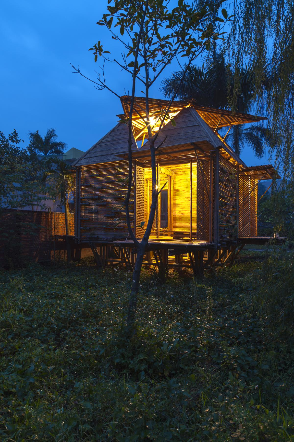 The Blooming Bamboo home, by Vietnamese architectural firm H&P Architects (Photo: Doan Thanh Ha)