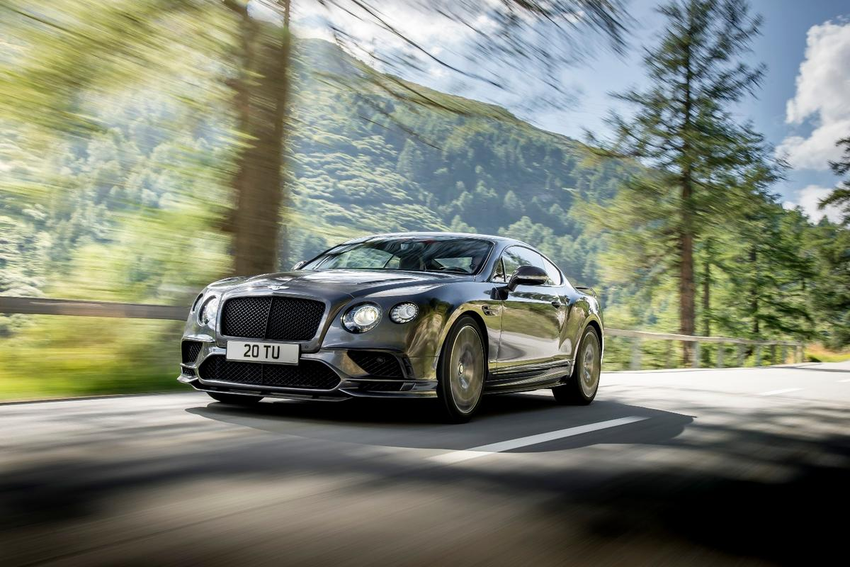 The new Bentley Continental Supersports is the fastest four-seat production car in the world